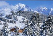 Station et village hiver