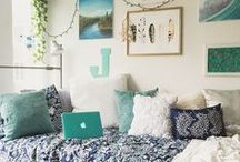 Dorm Style / Dorm rooms can be dull, but they can also be AMAZING.