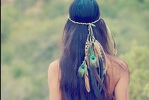 KR - EASY BOHO CHIC DO's / the way we want to look - here at the ranch