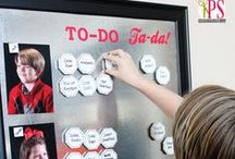 Chores  / Ideas for getting kids to help around the house