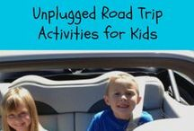 Traveling Activities  / Activities to do while on planes, trains or automobiles