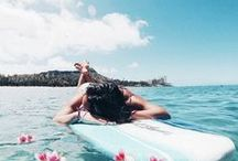 Summer  ☽ / Summer inspiration. Proving Summer is the best season of all.