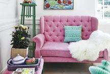 small spaces / apartment interiors + small space living + interior design