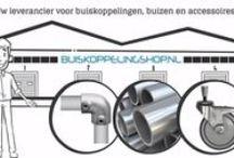 Buiskoppelingen / Buiskoppelingshop.nl heeft het grootste assortiment (TÜV gecertificeerde) buiskoppelingen met de beste kwaliteit voor de laagste prijs in Nederland. Het grote assortiment modellen van de buiskoppelingen maakt het mogelijk om buizen te verbinden tot de meest uiteenlopende constructies, waarbij doelmatigheid, kwaliteit en vormgeving een vereiste zijn. Het gebruik van inbusschroeven zorgt voor een zeer sterke verbinding, 600 kg schuifbelasting.
