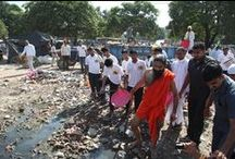 Swachh Bharat / Swachh Bharat Abhiyan (Clean India Mission) is a national campaign by the Government of India, covering 4041 statutory towns, to clean the streets, roads and infrastructure of the country