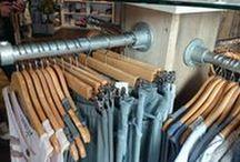 Winkel Inrichting Shop -Buiskoppelingshop.nl / Dit bord bevat foto's van verschillende toepassingen waarbij de buizen en buiskoppelingen van www.buiskoppelingshop.nl zijn gebruikt met name voor de inrichting winkel en/of shop.
