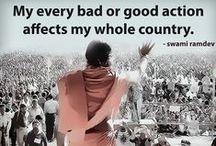 Inspirational Quotes / Inspirational quotations by Yoga guru  Swami Ramdev Ji
