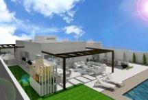 Fachadas / Diseño de fachadas y exteriores para viviendas, locales y negocios en general
