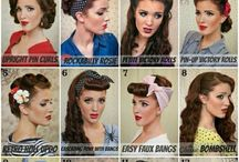 50,s / This ranges from hair , make up, fashion from the 50's.