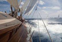 Yachts, yachting, sailing, and high seas adventure to remote islands. / Yachts, yachting, sailing, and high seas adventure to remote islands.