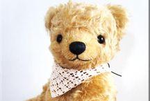 MON ALLURE -my teddy bears- / MON ALLURE http://mon-allure.com  original handmade teddy bears.