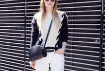 BLACK AND WHITE FASHION / BLACKANDWHITE | OUTFIT | LOOKS | INSPIRATION | MINIMAL | EFFORTLESS | CHIC