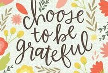 Gratitude / Thankfulness during the season of giving, and how to live more simply and happily.