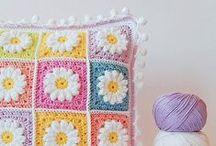 Crochet - Pillows / Crochet Inspiration