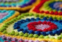 Crochet - Grannies / Crochet Inspiration