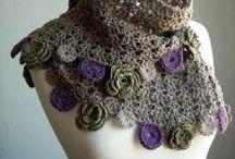 Crochet - Wearables - Head & Neckware / Crochet Inspiration