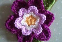 Crochet - Appliques / Crochet Inspiration