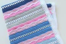 Crochet - Afghans for Baby / Crochet Inspiration
