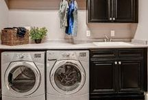 Laundry Room, Cleaning and Organizing