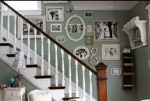 Stairs / My idea board for our stairway.
