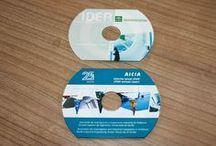 CDs en Pin y Cd-Cards en Logikart / Duplicación e impresión de CDs de alta calidad. CD-Cards con acabados profesionales.