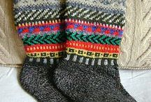 Knitting: Socks / Knitted socks, knee highs, stockings, etc. / by croknit86