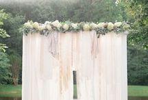 boho wedding – ceremony / ceremony, marriage ceremony, altar