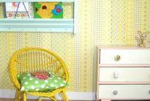 De retro kinderkamer | kidsroom / Als je van Retrokleding houdt dan houdt je vast ook van andere retro stijlen? Dit bord biedt inspiratie voor de leukste en tofste kinderkamer.