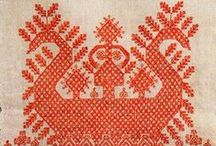 Charts: Traditional, Folk, Regional, Antique / If the picture has a chart it's here.  Charts may be used for knitting, cross stitch, filet crochet, tapestry crrochet, etc / by croknit86