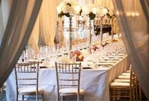 E&C / Pale rose roses and white were the colours of this elegant wedding, combining tradition with contemporary taste.
