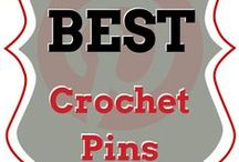 The Best Crochet Pins / 5 New Pins Every Friday, with a new theme every week. The best of the best crochet links, tutorials & patterns. (Curated by I love, Therefore I Craft)