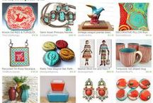 Etsy Treasuries by ME! / Etsy Treasuries I've curated and filled with great stuff!