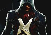 Nihil Est Verum Omnia Licet ~ Assassin's Creed / Altaïr Ibn-La'Ahad, Ezio Auditore da Firenze, Connor Kenway, Edward Kenway, Arno Victor Dorian, Shay Patrick Cormac. Join the creed.
