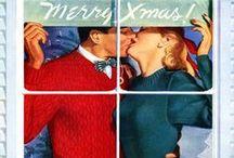 Retro & vintage kerst / Inspiratie uit de sixties en fifties voor de decembermaand!  xmas sinpiration vintage retro fifties