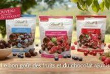 Lindt Sensation Fruit / Le bon goût des fruits et du chocolat réunis