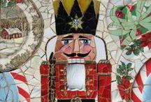 Holiday Mosaics / Mosaics inspired by Christmas!