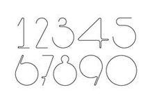 typography / 12345