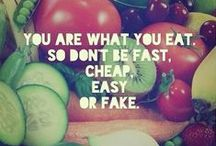 healthy lifestyle / motivational quotes, workouts, healthy food