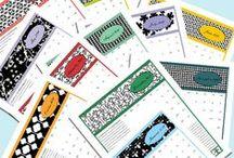 printables (binders and organization) / printables, home binders , organization, lists, checklists / by Beth Viers