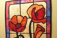 Quilts - Stain Glass Style