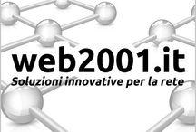 web2001.it / E-commerce | Networking | Sistemistica | Multimedia | SEO | Siti internet