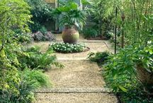 Garden Vignettes / lovely corners and settings within a garden - food for the soul