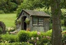 Garden Sheds & Greenhouses