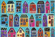 Arty Crafty Houses
