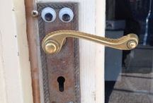 Eyebombing / Putting googly eyes in public places to make someone smile / by Fiona Birchall