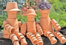 Terracotta Pot People