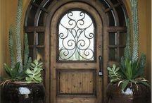 Front door entryway exterior