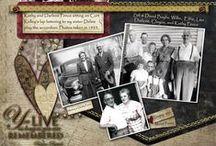 Family History Scrapbook / Family history ideas and layouts