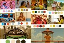 Wes Anderson's Colors