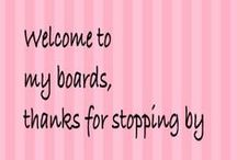 Hello, Welcome to my Boards